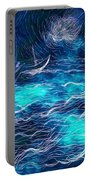 Sailboats In A Storm Portable Battery Charger