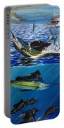 Sailfish In Costa Rica Portable Battery Charger