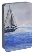 Sailing Off Cape May Point Portable Battery Charger