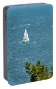 Sailing The Sea Of Marmara Portable Battery Charger