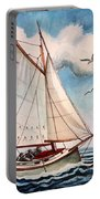 Sailing Through Open Waters Portable Battery Charger