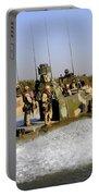 Sailors Racing Along The Euphrates Portable Battery Charger