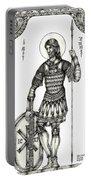 Saint Artemius Portable Battery Charger