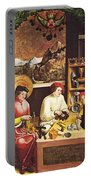 Saint Eligius In His Workshop Portable Battery Charger