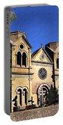 Saint Francis Cathedral Santa Fe Portable Battery Charger