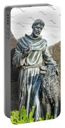 Saint Francis In Galapagos Portable Battery Charger