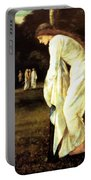 Saint George And The Dragon The Princess Tied To The Tree 1866 Portable Battery Charger