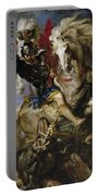 Saint George Battles The Dragon Portable Battery Charger