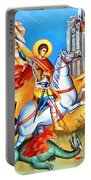 Saint George Fight Portable Battery Charger