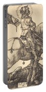 Saint George On Horseback Portable Battery Charger