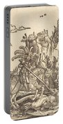 Saint George Slaying The Dragon Portable Battery Charger