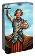 Saint Joan Of Arc Portable Battery Charger