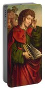 Saint John The Evangelist Weeping Portable Battery Charger