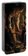 Saint Joseph The Carpenter  Portable Battery Charger