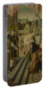 Saint Lawrence Before The Prefect Portable Battery Charger
