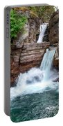 Saint Mary Falls - Glacier National Park Portable Battery Charger