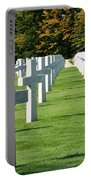Saint Mihiel American Cemetery Portable Battery Charger by Travel Pics
