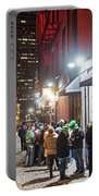 Saint Patrick's Day On Marshall Street Boston Ma Portable Battery Charger