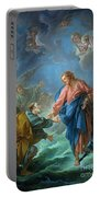 Saint Peter Invited To Walk On The Water Portable Battery Charger