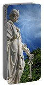 Saint Peter With Keys To Heaven Portable Battery Charger