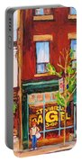 Saint Viateur Bagel Portable Battery Charger