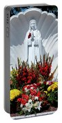 Saint Virgin Mary Statue #2 Portable Battery Charger