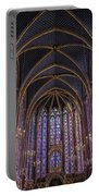 Sainte Chapelle Stained Glass Paris Portable Battery Charger