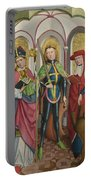 Saints Ambrose Exuperius And Jerome Portable Battery Charger