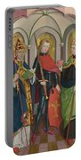 Saints Gregory Maurice And Augustine Portable Battery Charger