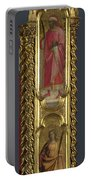 Saints Nicholas Damian And Margaret   Right Pilaster Portable Battery Charger