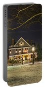 Salem Commons Winter Snow At Christmas Salem Ma Portable Battery Charger