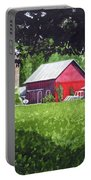 Salem County Farm, Framed Portable Battery Charger