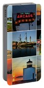 Salem Ma Nine Picture Collage Portable Battery Charger