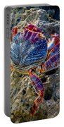 Sally Lightfoot Crab 1 Portable Battery Charger