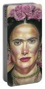 Salma Hayek As Frida Kahlo Portable Battery Charger