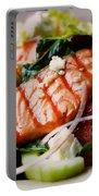 Salmon Salad Portable Battery Charger
