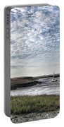Salt Marsh And Creek, Brancaster Portable Battery Charger