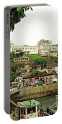 Salvador's Old Port At Noon Portable Battery Charger