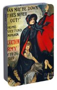 Salvation Army Poster, 1919 Portable Battery Charger