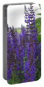 Salvia In The Spring Portable Battery Charger