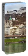Salzburg City And Fortress  Portable Battery Charger