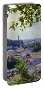 Salzburg City View Four Portable Battery Charger