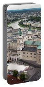 Salzburg Panoramic Portable Battery Charger by Adam Romanowicz