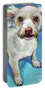Sam The Maltese Mix Portable Battery Charger