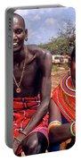 Samburu Couple Portable Battery Charger