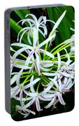 Samoan Spider Lily Portable Battery Charger