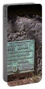 12- Samuel Adams Tombstone In Granary Burying Ground Eckfoto Boston Freedom Trail Portable Battery Charger