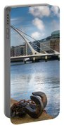 Samuel Beckett Bridge, Dublin, Ireland Portable Battery Charger