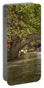 San Antonio Riverwalk Portable Battery Charger by Steven Sparks