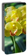 San Diego Yellow Orchids Portable Battery Charger
